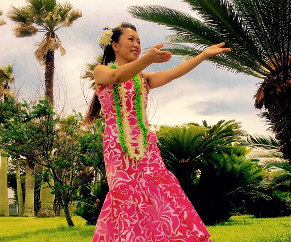 フラダンス講師 Keiko